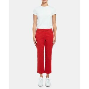 NWT Theory Cropped Pant Moleskin Twill Career